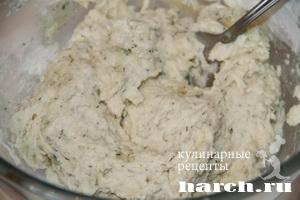 Заварные вареники с сыром и творогом