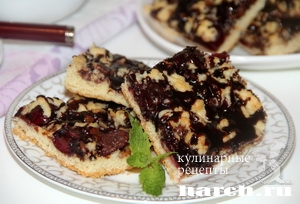 Печенье с шоколадом Вишневый поцелуй
