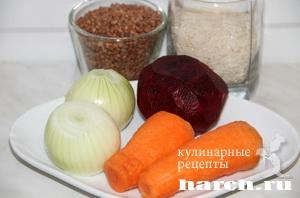 Рисово гречневая каша Северная