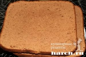 Шоколадно-вишневый торт с халвой – кулинарный рецепт