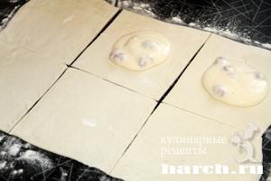 Слоеные ватрушки по венгерски