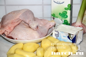 Курица по гречески