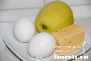 Салат с яблоком Мадонна