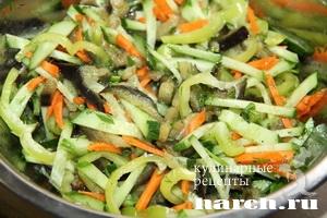 Салат из баклажанов Любочка