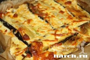 Овощная запеканка с фаршем и сыром