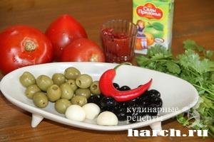 Соус из сырых помидоров к шашлыку