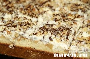 Мюнхенский яблочный пирог с ванильным кремом