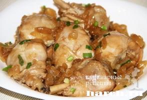 Курица по японски