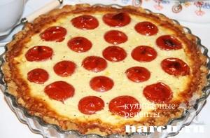 Пирог с мясным фаршем и помидорами Будапештский