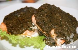 Рыба под соусом Баже