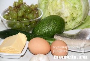 Зеленый салат Лидия