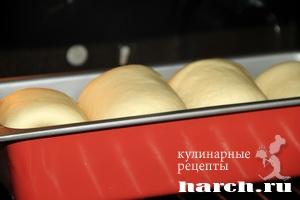 Заварной японский хлеб