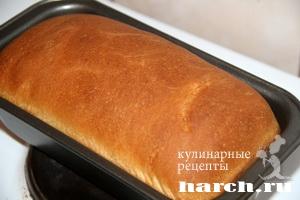 Тостовый хлеб на жидкой закваске