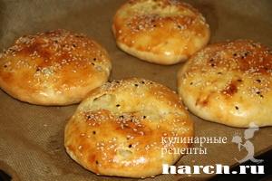 Мясной пирог Хризантема