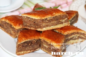 Сочинский ореховый пирог