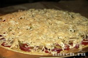 Пицца на кефире Московская