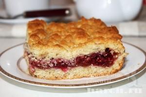 Яблочный пирог с малиной по закарпатски