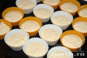 Кексы с плавлеными сырками
