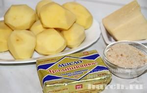 Картофель под сухарной корочкой
