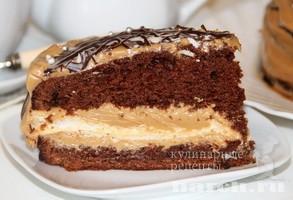 Торт с безе Черный принц
