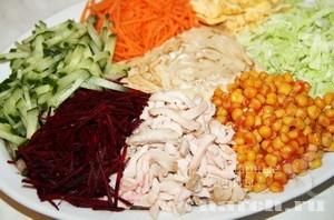 Сборный салат Абриколь