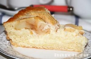 яблочный пирог с рисом