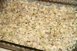 Салат с курицей, грибами и черносливом Старая Москва