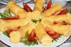 Холодные закуски из сыра