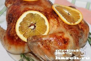 Апельсиново-имбирный цыпленок
