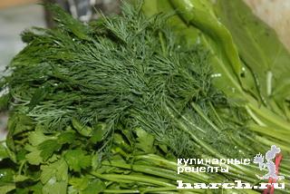 Ассорти из зелени маринованное