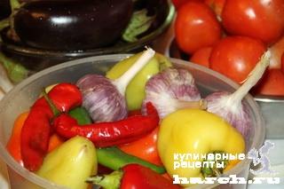 Баклажаны в остром томатном соусе по павлодарски