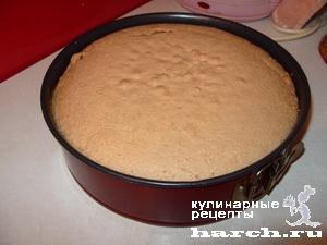 """Бисквитный торт """"Ежик"""""""