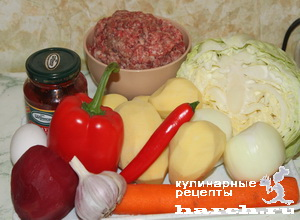 borgh sibirskiy s frikadelkami 01 Борщ сибирский с фрикадельками