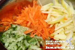 Булочки с салатом