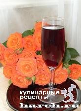"""Черешневое вино """"Солнечное"""""""