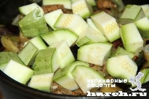 Човлент с овощами