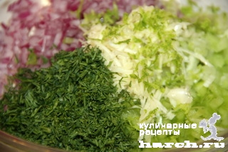 Дип из плавленого сыра с овощами