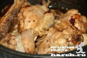 Еврейское жаркое из курицы