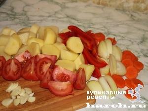 fermerskoe garkoe is celnogo kuska svinini 07 Фермерское жаркое из цельного куска свинины