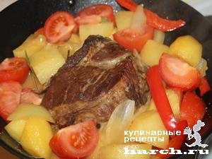 fermerskoe garkoe is celnogo kuska svinini 09 Фермерское жаркое из цельного куска свинины