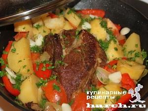 fermerskoe garkoe is celnogo kuska svinini 10 Фермерское жаркое из цельного куска свинины