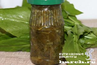 Щавель консервированный (без соли)