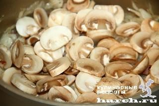 Щи боярские с квашеной капустой, фасолью и грибами