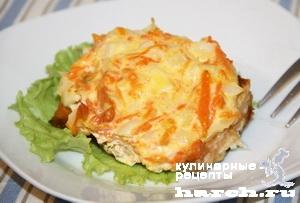 gorbusha s lukom i morkoviu po gitomirsky 11 Горбуша с луком и морковью по житомирски