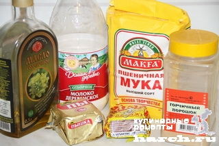 Горчично-молочный хлеб