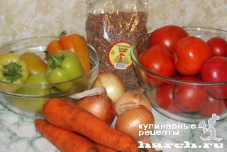 Гречка с овощами консервированная