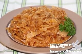 kapusta tushenaya s myasom 09 Капуста, тушеная с мясом