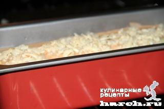 Капустный рулет с мясным фаршем под сливочным соусом