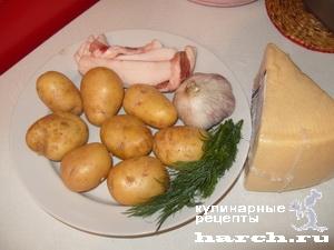 Фото фаршированного картофеля в