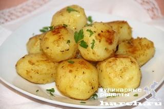Картофель в горчичном соусе